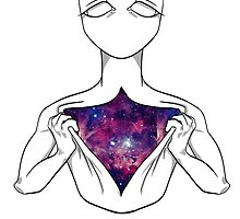 There Is A Galaxy Under My Skin by reinstaag