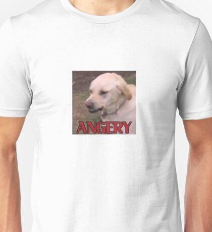 ANGERY DOGGO Unisex T-Shirt