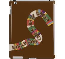 Doctor Who - Scarf Some Jelly Babies iPad Case/Skin