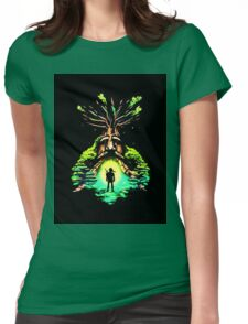 magic tree Womens Fitted T-Shirt