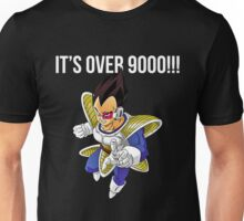 its over 9000 Unisex T-Shirt