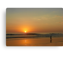 Sunset over La Jolla Shores Canvas Print