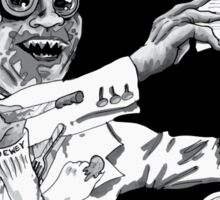 The Villainous Presidents: Truman Eats Dewey Sticker