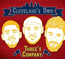 CLE's 3 Company by justacramp