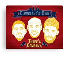 CLE's 3 Company Canvas Print