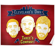 CLE's 3 Company Poster