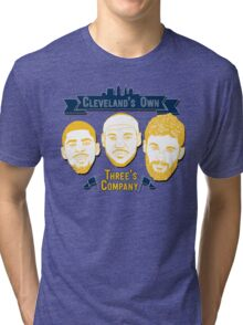 CLE's 3 Company Tri-blend T-Shirt