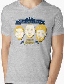 CLE's 3 Company Mens V-Neck T-Shirt