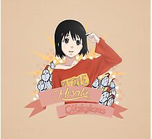 Welcome to the NHK - Misaki Nakahara Ribbon Photographic Print