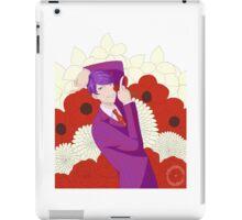 Flower Man iPad Case/Skin
