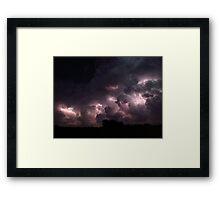 Lightning Cloud 2 Framed Print