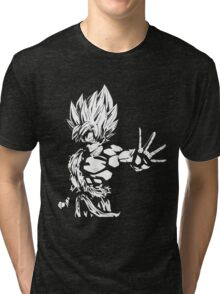Son Goku SSJ Tri-blend T-Shirt