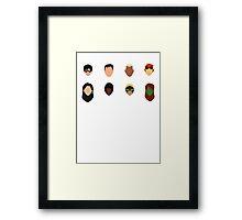 Minimal YJ Framed Print
