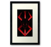 Berserk Brand Framed Print
