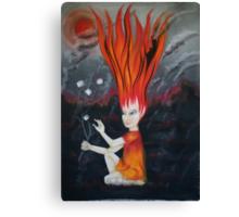 elemental children-fire Canvas Print