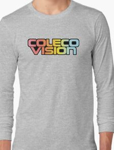 Retro Coleco Vision logo Long Sleeve T-Shirt