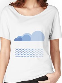 Sky and Sea Women's Relaxed Fit T-Shirt
