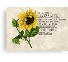Pile of Good Things Canvas Print