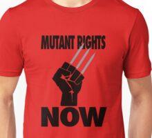 Mutant Rights Now Wolverine Unisex T-Shirt