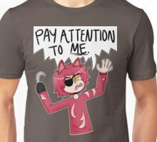 Attention Seeker Foxy Unisex T-Shirt