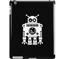 Cute Robot 6 White iPad Case/Skin