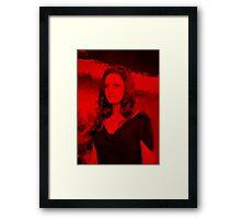 Rebecca Ferguson - Celebrity (Life Pose) Framed Print