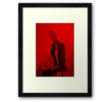 Rebecca Ferguson - Celebrity (Action Pose) Framed Print