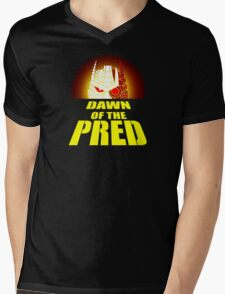 Dawn of the Pred Mens V-Neck T-Shirt