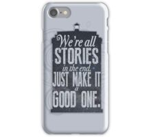 Stories iPhone Case/Skin