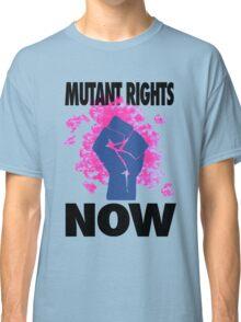 Mutant Rights Now Nightcrawler Classic T-Shirt