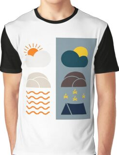 Camping Adventures Graphic T-Shirt