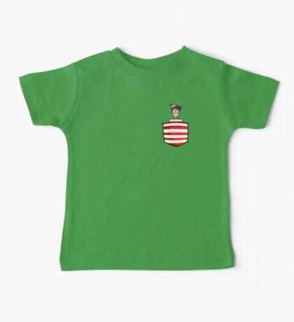 Wally / Waldo is in my pocket Baby Tee