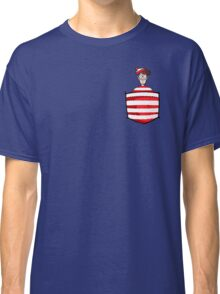 Wally / Waldo is in my pocket Classic T-Shirt
