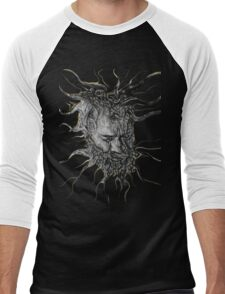 Pulsation of Socrates (No background) Men's Baseball ¾ T-Shirt