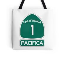 PCH - CA Highway 1 - Pacifica Tote Bag