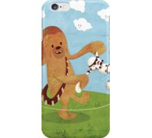 Star Wars babies - inspired by Chewbacca iPhone Case/Skin