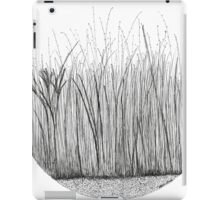 Grass circle #2 iPad Case/Skin