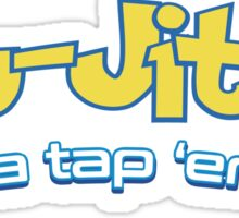 Brazilian Jiu-Jitsu Gotta Tap 'Em All (BJJ) Sticker