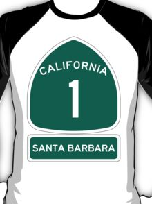 PCH - CA Highway 1 - Santa Barbara T-Shirt