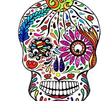 Sugar Skull I by shellybeadesign
