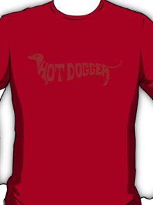 Hot Dog Funny 70s shirt - Red T-Shirt