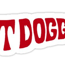 Hot Dog Funny 70s shirt - Red Sticker