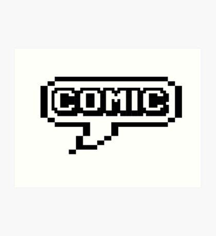 COMIC Art Print