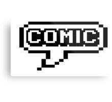 COMIC Metal Print