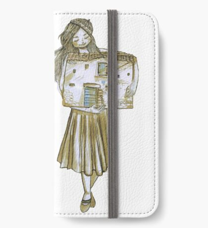 Tiny house lady iPhone Wallet/Case/Skin