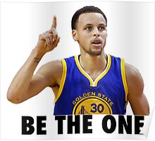 Curry - Be the one Poster