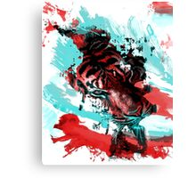 Sinister Tiger Canvas Print