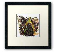 Behemoth the Cat (from The Master and Margarita) Framed Print