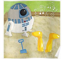 Star Wars babies - inspired by R2-D2 and C-3PO Poster