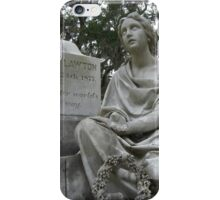 Expressionless Beauty iPhone Case/Skin